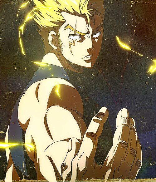 Laxus Dreyar - Fairy Tail Anime!! He's so cool but he was such a jerk !