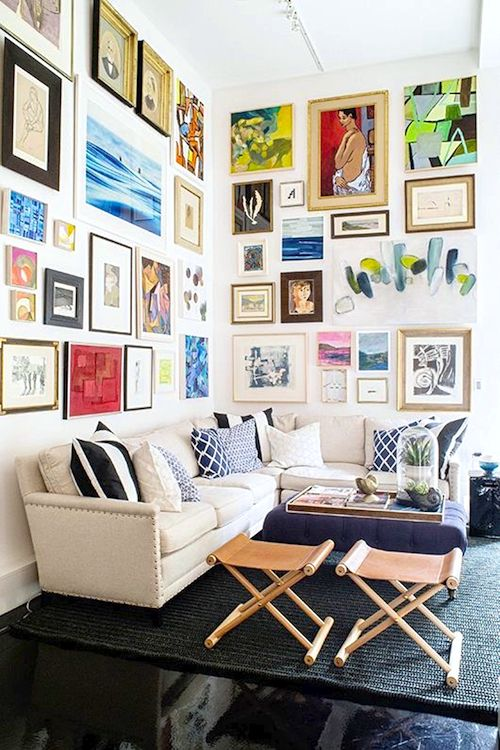 Wall Art, Gallery Wall, Home Decor Serena + Lily Opens In San Francisco /  Sfgirlbybay