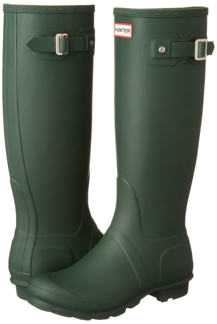 A pair of Hunter Boots that are as dependable as the English rain