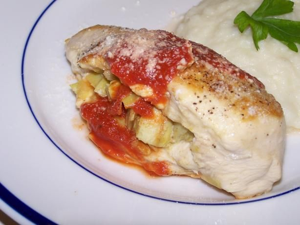 stuffed chicken breasts savory spicy sweet parmesan stuffed chicken ...