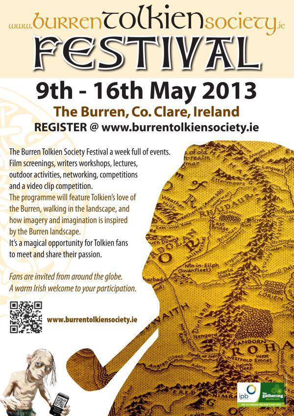 The inaugural Burren Tolkien Society Festival 2013.