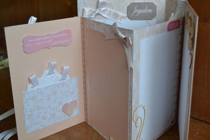Pocket for wedding cards