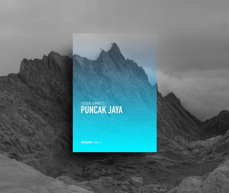 Seven Summits on Behance