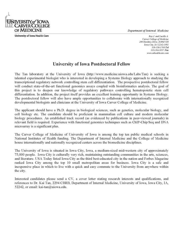 cover letter for assistant professor position jianbochen postdoc sample cash recepit template person