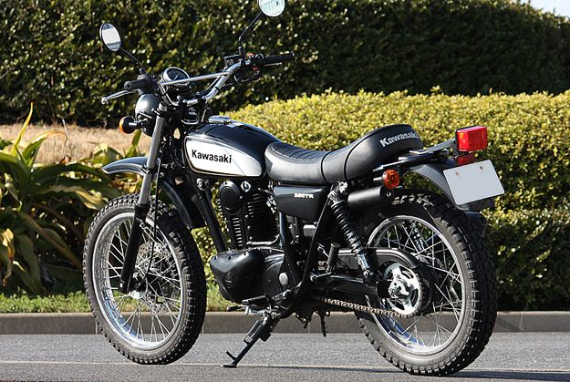 Kawasaki 250TR - New bike.  Looks like a 70's enduro.  Also, we cannot buy it in the US.