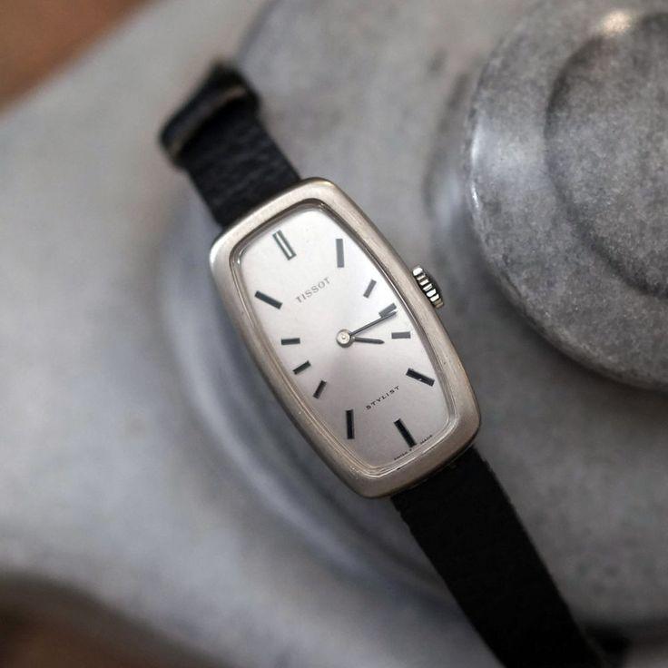 Tissot Stylist Women's Hand Wind Analog Vintage Wristwatch #Tissot #Vintage