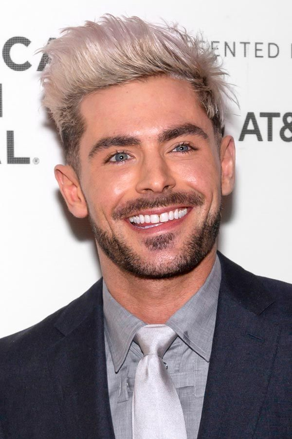 The Selective Collection Of The Best Zac Efron Haircut Styles In 2020 Zac Efron Hair Platinum Blonde Hair Men Platinum Blonde Hair