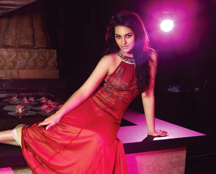 Sonakshi-In the spotlight.