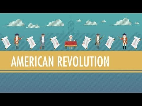 ▶ Tea, Taxes, and The American Revolution: Crash Course World History…terrific for 5th and 6th grade…look on the right hand side for other GREAT videos!