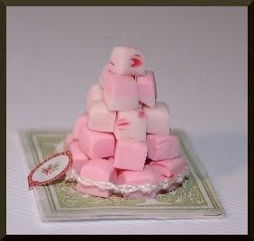 Joy of Desserts: Vintage strawberry divinity fudge recipe
