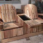 Adirondack Jack & Jill Chair von Pallets
