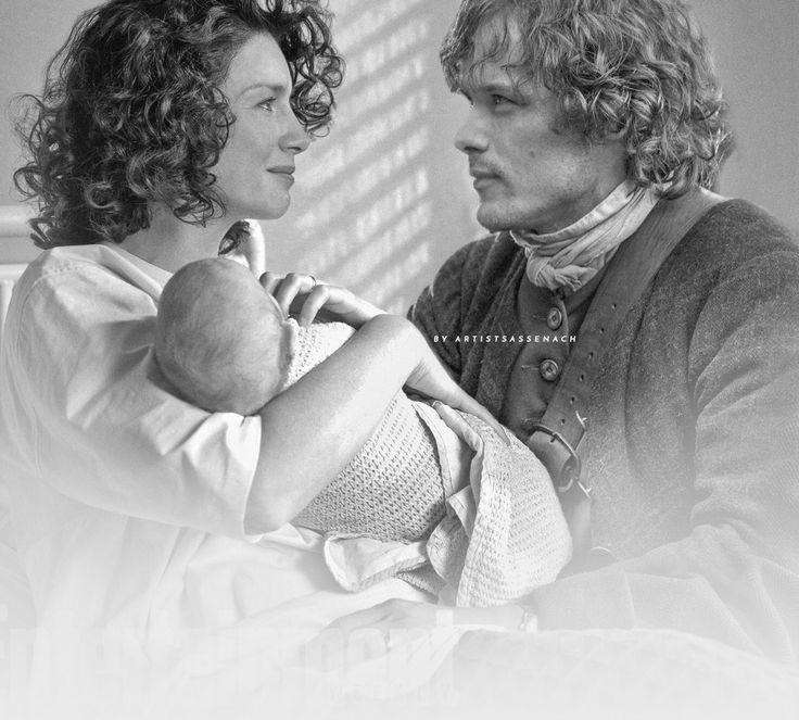 Claire, baby Bree & Jamie