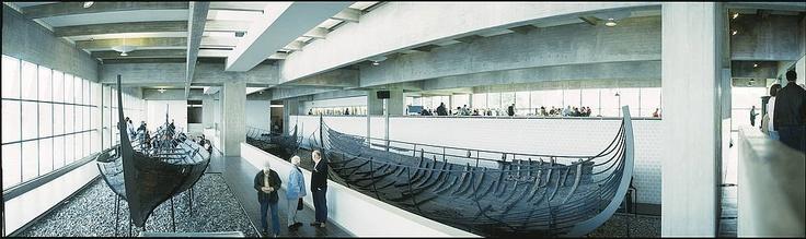 The Viking Ship Museum in Roskilde, Denmark
