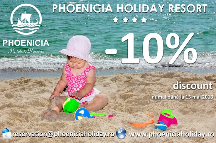 Early Booking 10% discount until 15 of May!