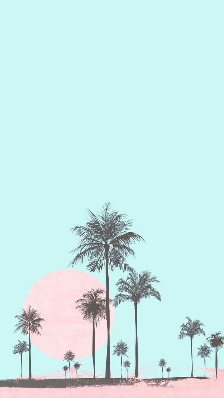 iPhone and Android Wallpapers: Pastel Tropical Wal…