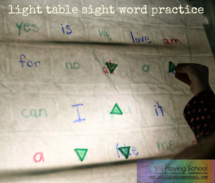 57 best light table literacy images on pinterest light for Table th word wrap