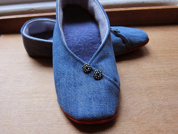 1000 Images About Sew This Slippers On Pinterest