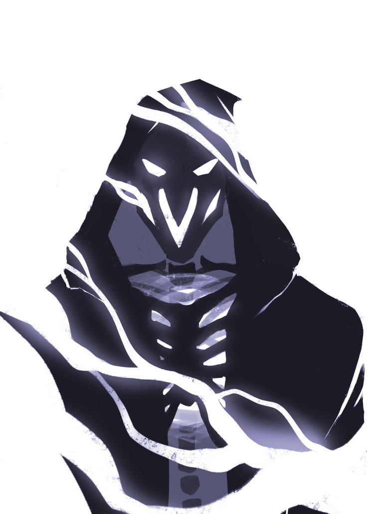 Soooo I still don't remember how to draw digitally yet, here's a reaper doodle