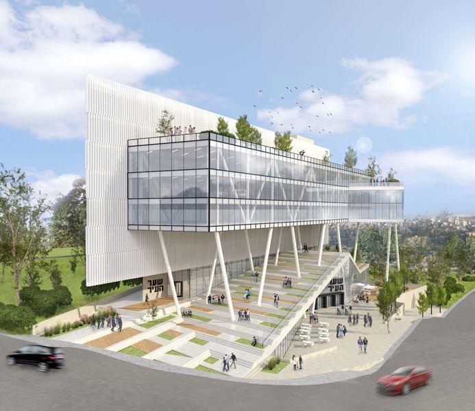City Gate Of Nazareth Illit Auerbach Halevy Architects Architect Architecture Urban Planning