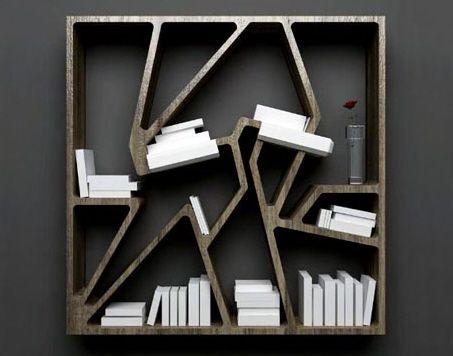 Neat Bookshelve