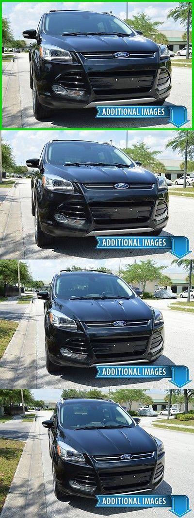 SUVs: 2013 Ford Escape Loaded! Nav! Titanium - Free Shipping Sale! Ford Suv Nissan Rogue Juke Murano Hyundai Santa Fe Chevy Captiva Ltz Kia Sorento -> BUY IT NOW ONLY: $16999.0 on eBay!
