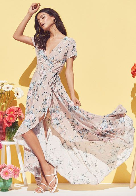 8b47f66bad71 Auguste The Label - Women's Clothing at The Cool Hour in 2019 | Looks We  Love | Maxi wrap dress, Fashion, Dresses