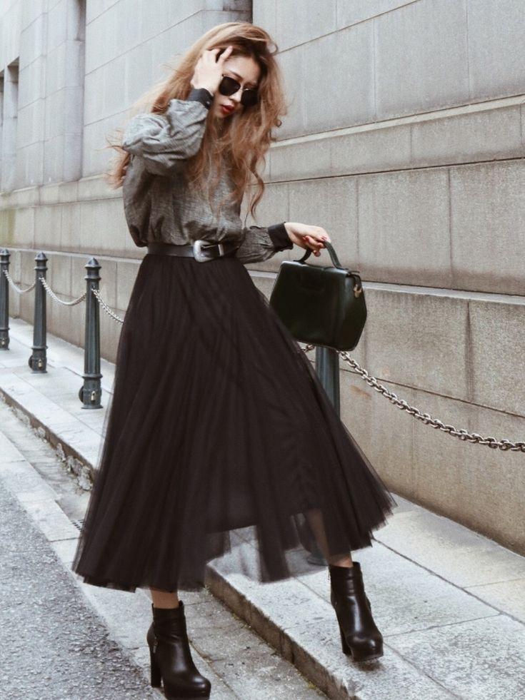 Akane|スカートを使ったコーディネート