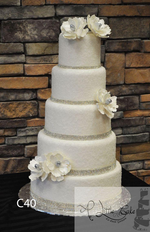 Fondant Wedding Cake We are one of