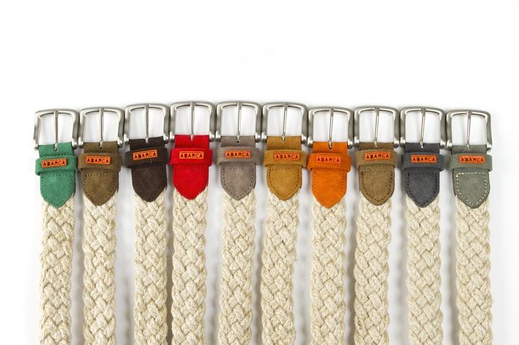 En Abarca Shoes hemos confeccionado artesanalmente cinturones de 10 colores, que podéis combinar con nuestro calzado.