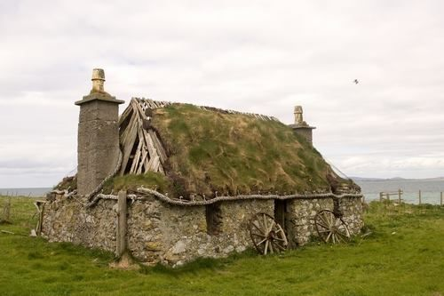 Abandoned croft...Scotland