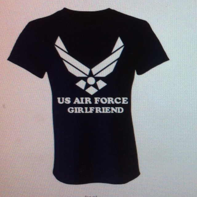 US AIR FORCE GIRLFRIEND