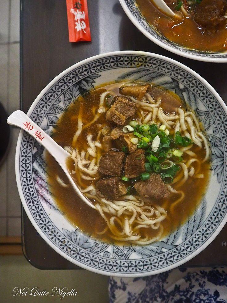 Taiwan travel street food