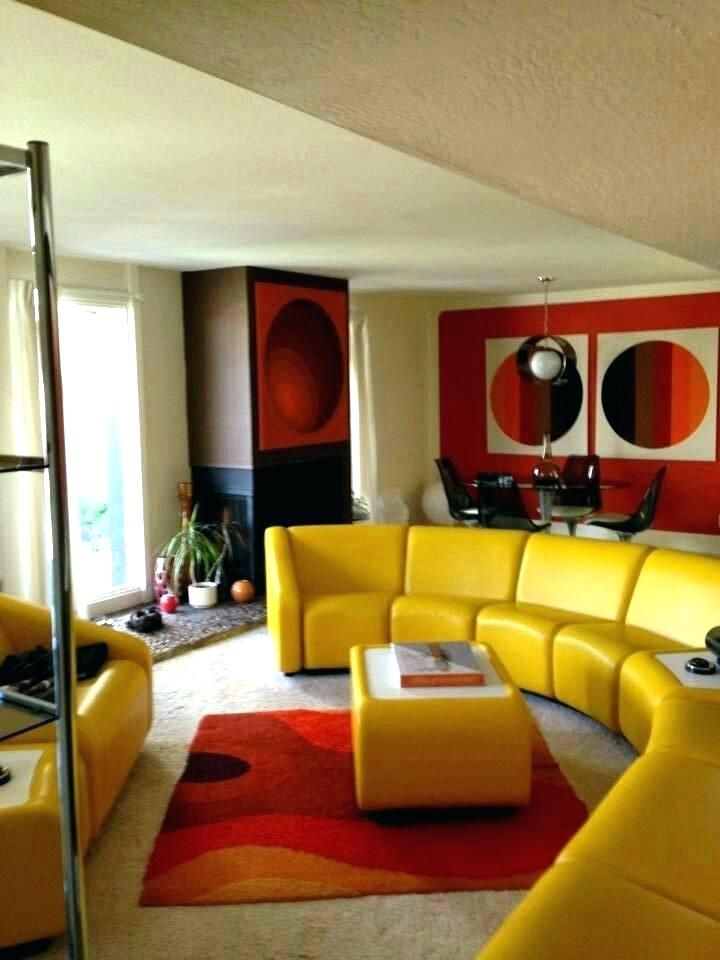 70s Style Furniture Style Furniture Seventies Living Room Vintage