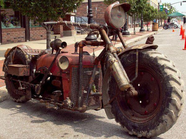moto tout-terrain.