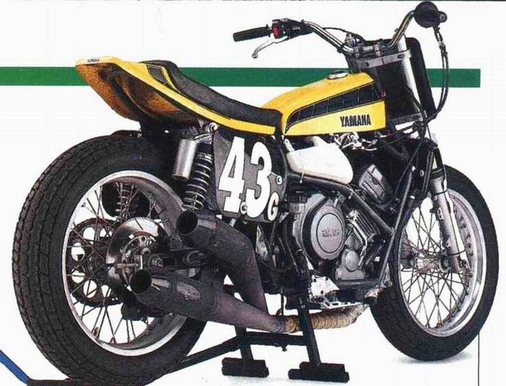 Yamaha TDM flat tracker