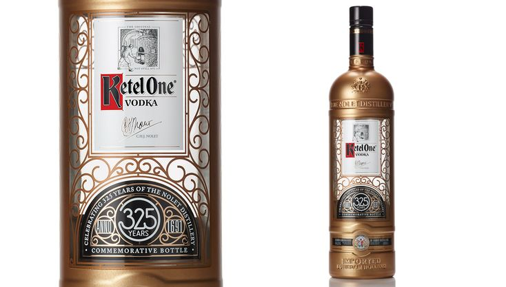 Ketel One Vodka Celebrates Its 325th Anniversary with a Limited-Edition Bottle   Wine, Spirits & Cigars