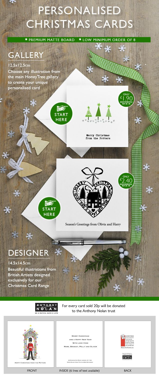 115 best personalised christmas cards gift emporium from buy the 2015 personalised charity christmas cards collection online at honeytree publishing and createabuzz this kristyandbryce Image collections