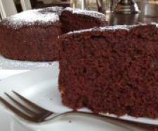Choc beetroot cake