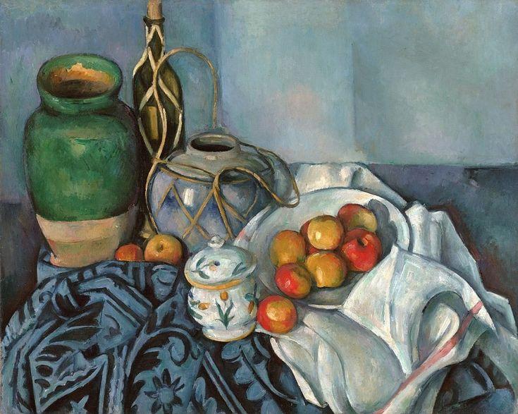 Поль Сезанн. Натюрморт с яблоками