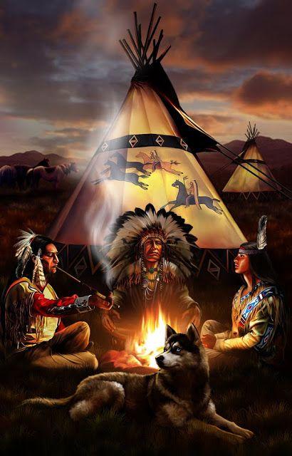 Muitos povos indígenas americanos usavam a fumaça das fogueiras como sistema de comunicação entre as tribos.