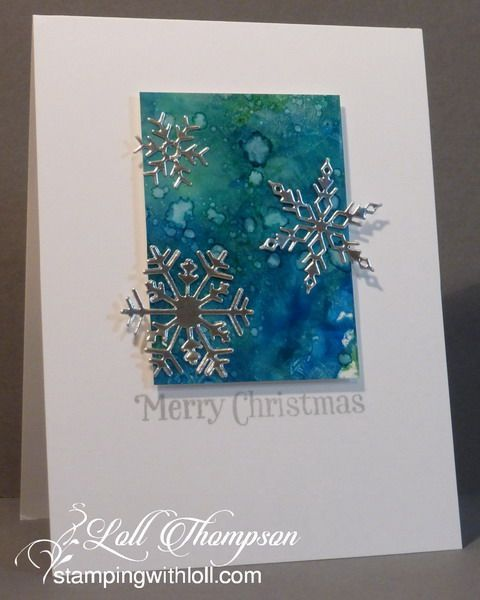Hi everyone. Today I'm posting some cards I made in December. It was a tough month with radiation treatments, along with having the flu ...