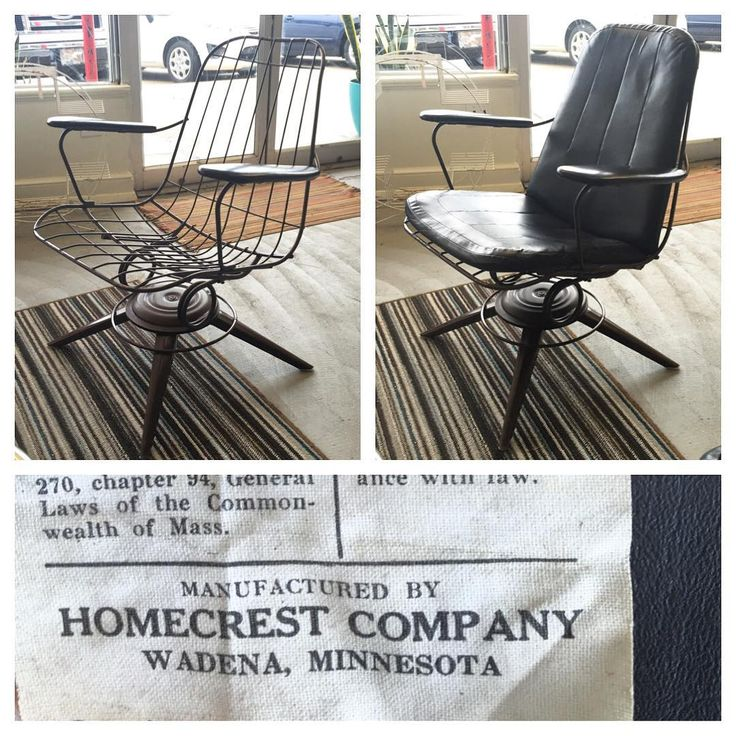 Mid Century HOMECREST B25 Lounge Chairs With ORIGINAL Cushions And Arm Rest  Covers!! Super Idea