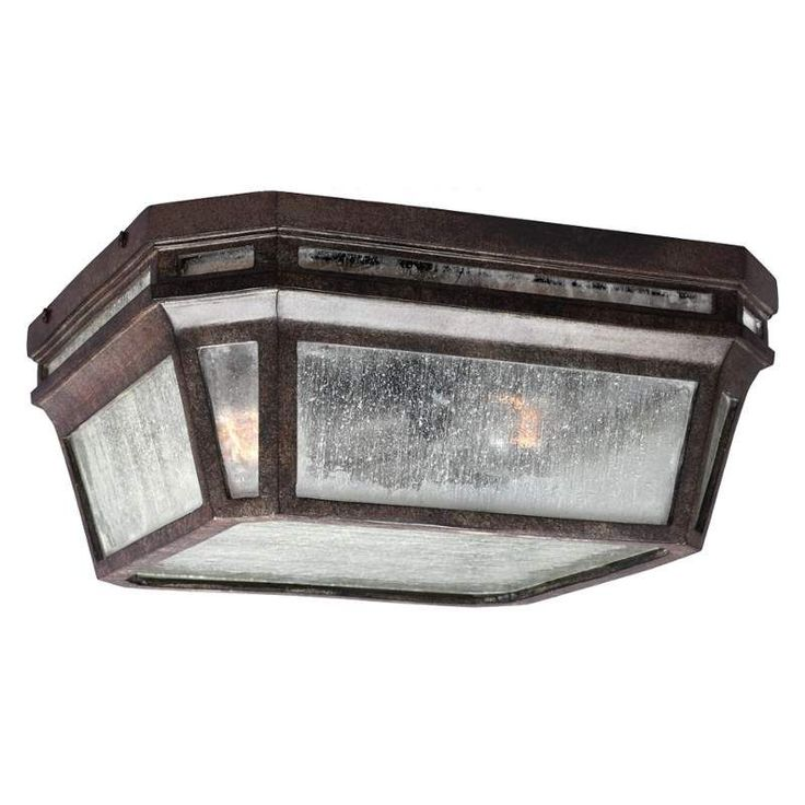 View the Murray Feiss OL11313WCT-LED Weathered Chestnut Londontowne 1 Light LED Outdoor Flush Mount Ceiling Fixture at Build.com.