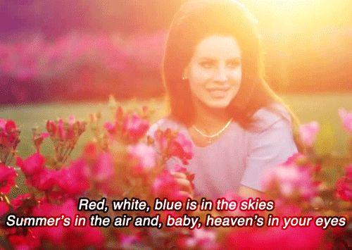 I'm your national anthem, god you're so handsome