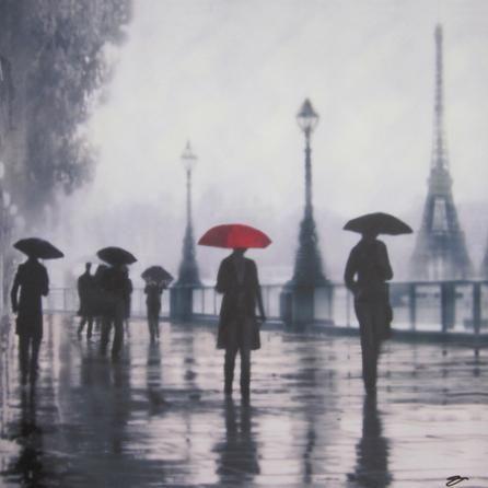 Parisian Printed Canvas | Dunelm