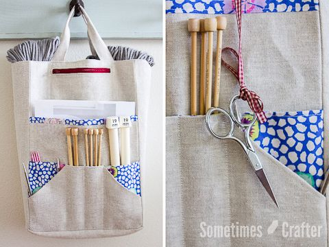 » Amanda's Knitting Bag Pattern $9