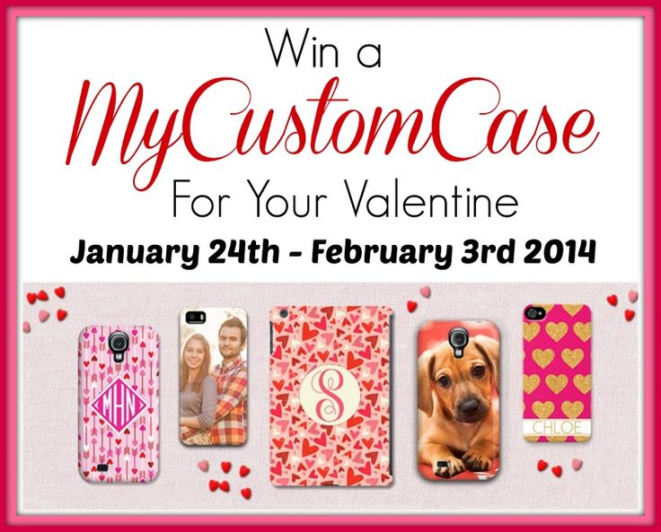 Enter to WIN a custom Case for your iPhone, iPad Mini, and more from MyCustomCase! Giveaway Ends 2/3/14