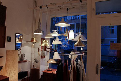 mid-century modern | Vintage Galore | Berlin | bold.color.glass blog