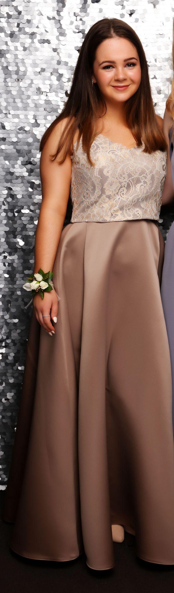 Glendowie School Ball 2017. Adore this feminine look!