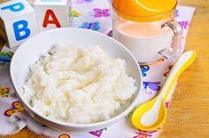 Mliečna ryža pre dojčatá